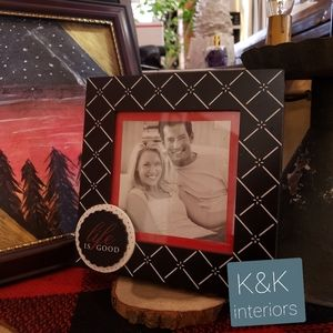 Life is good picture frame romantic valentine's